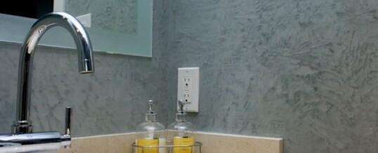 Мазилки за баня – едно различно решение